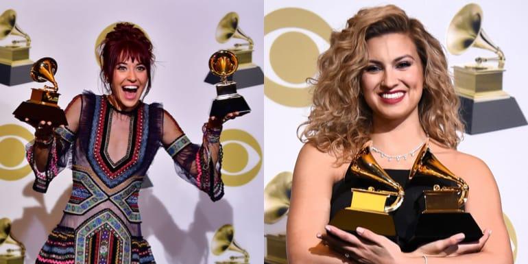 Лауреатов премии Грэмми Tori Kelly и Lauren Daigle!