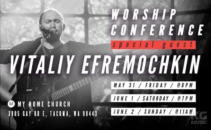 Worship Conference Vitaliy Yefremochkin