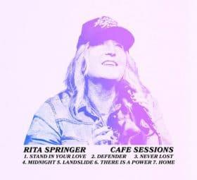 Cafe Sessions - Rita Springer